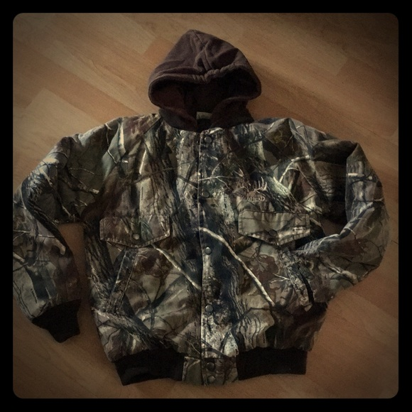 9e852bb4a3f16 REDHEAD Jackets & Coats | For Youth Thermometer Camo Jacket L | Poshmark
